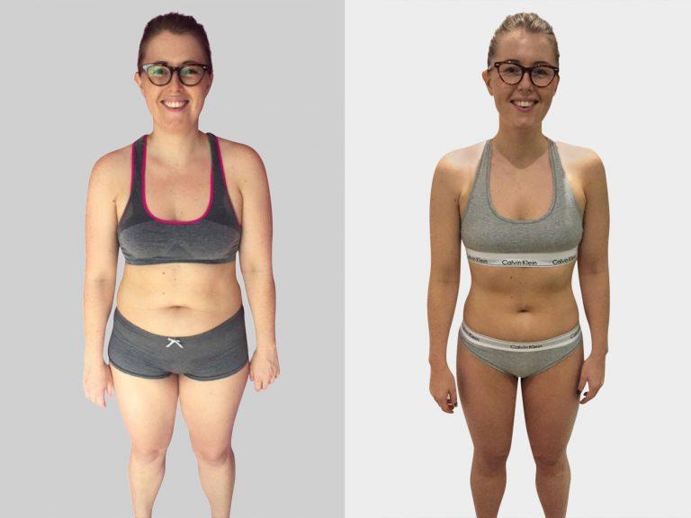Woman Drops body fat fast in putney