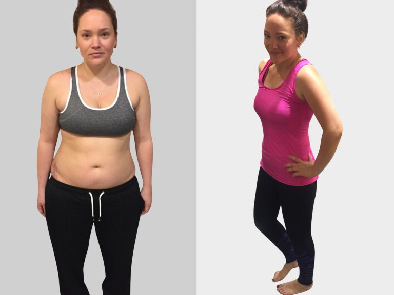 female fat loss client in Putney