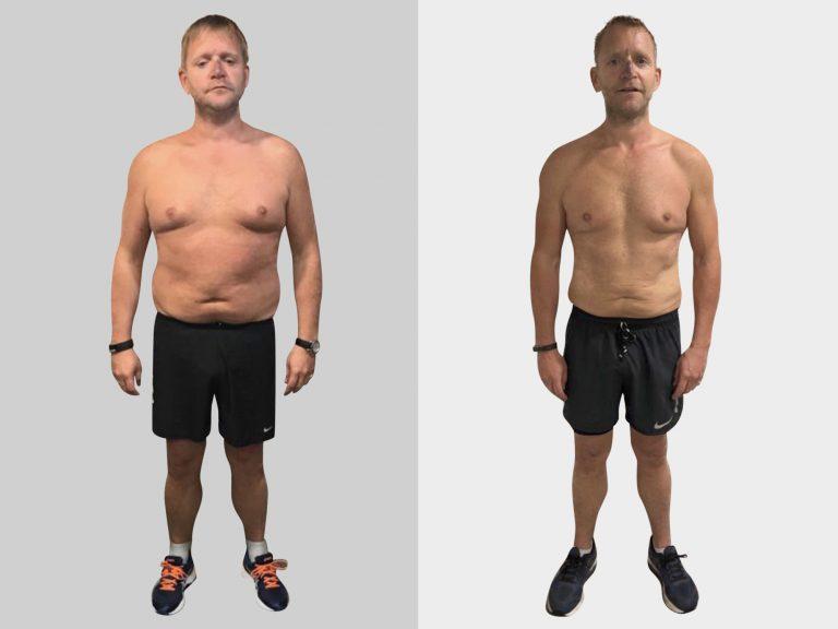 Man lose large amount of weight